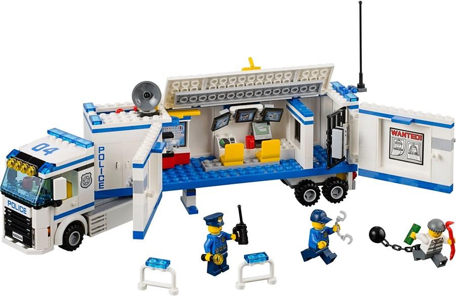 F014 Lego Mobiele Politiepost (vanaf 7 jaar)