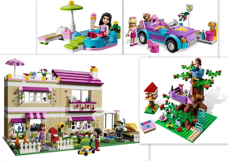 F.196 Lego Friends Huis met uitbreiding