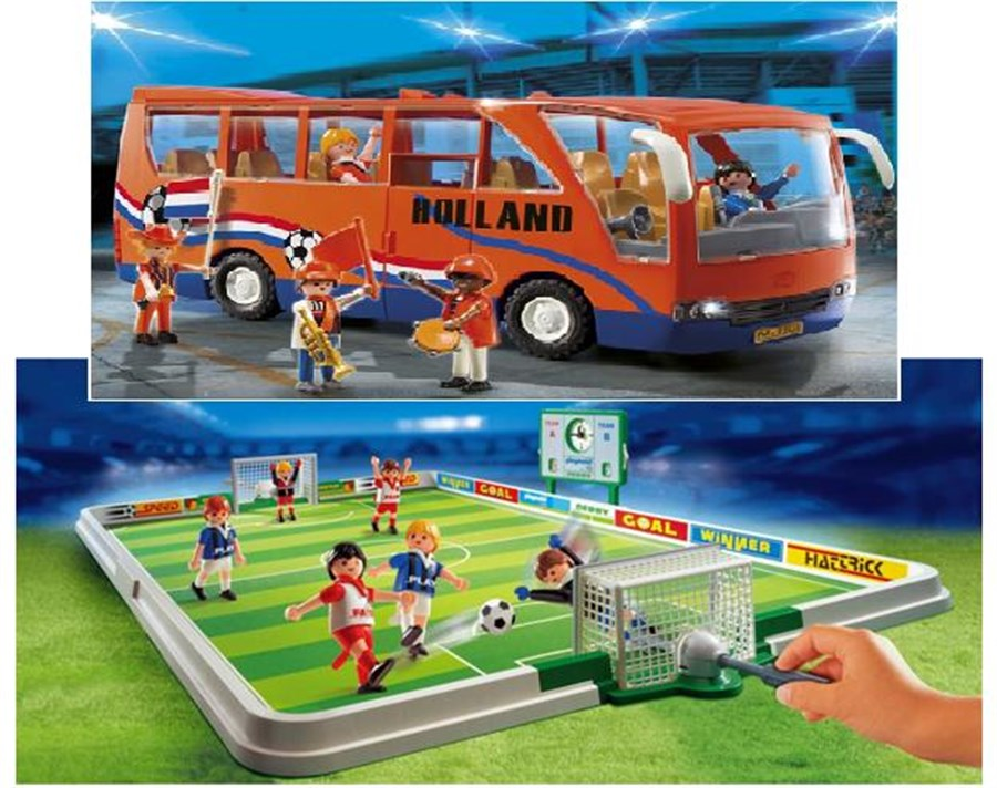 F194 Voetbalveld en Bus PM