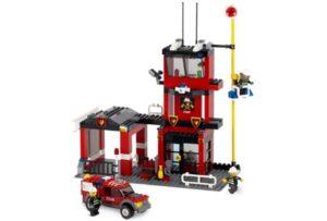 F.184 Brandweerkazerne Lego