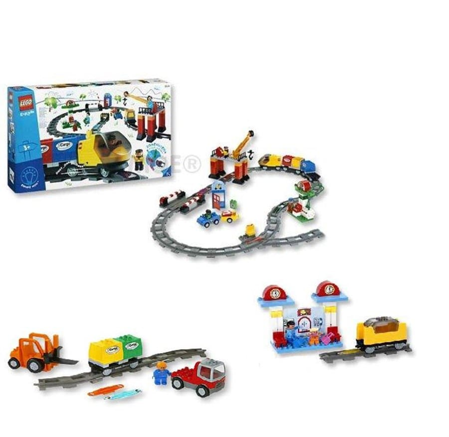 F139 Trein intelligentie Duplo 3in1