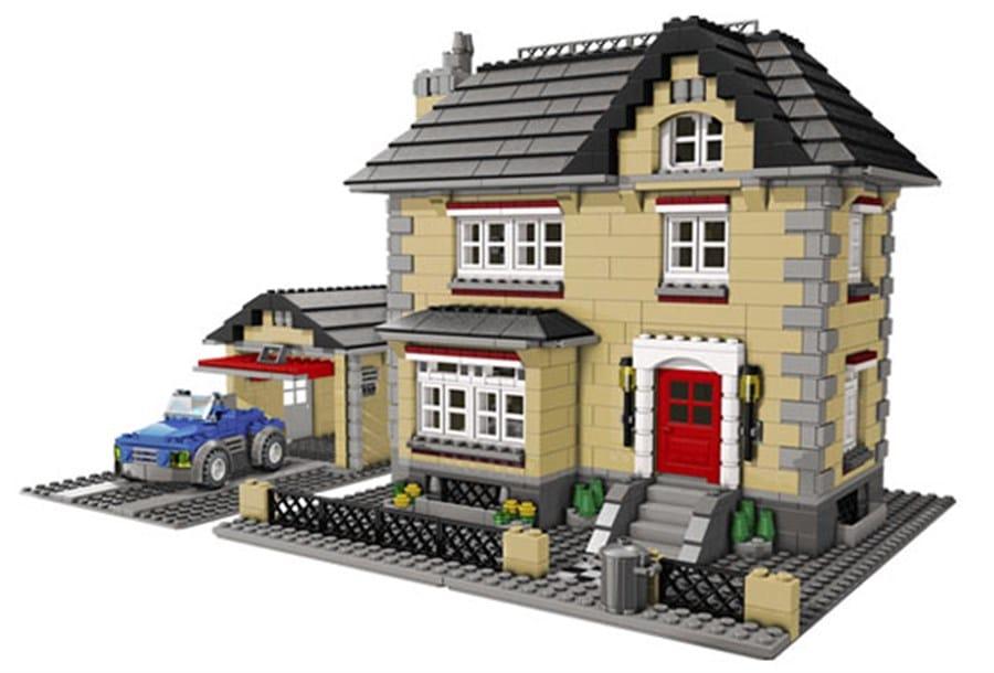 F117 Lego huis