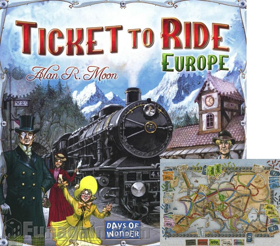 G152 Ticket to Ride Europe