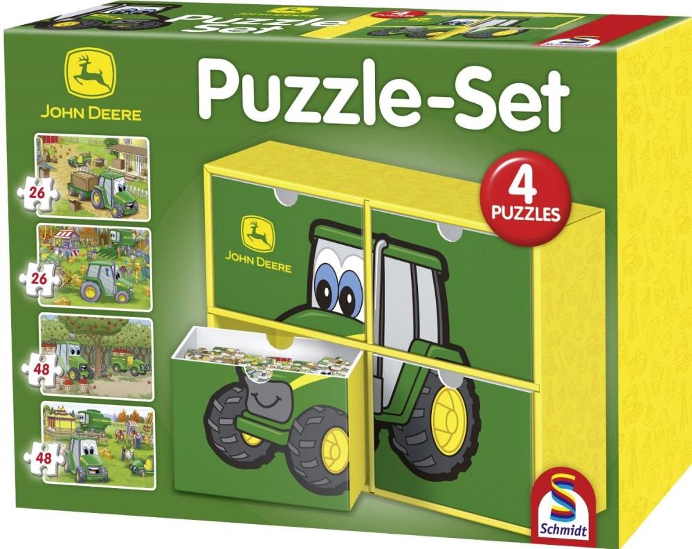 P.063 Puzzel John Deere (van 3 tot 6 jaar)
