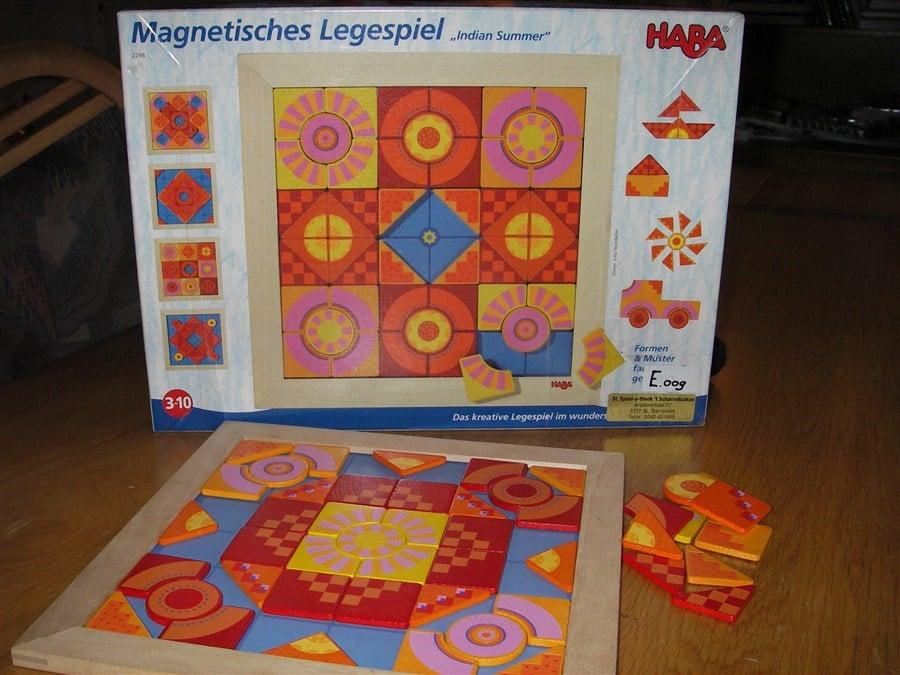 E009 Magnetisch mozaiekspel