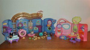 F.043 Little Petshop dierenkliniek en speeltuin
