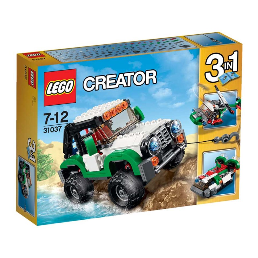 F.016 Lego voertuigen