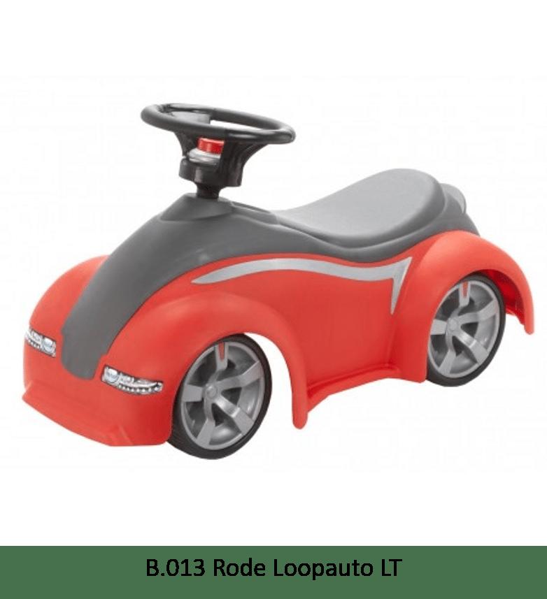 B.013 Rode Loopauto LT
