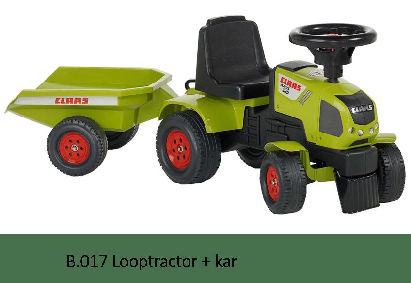 B.017 Looptractor +kar