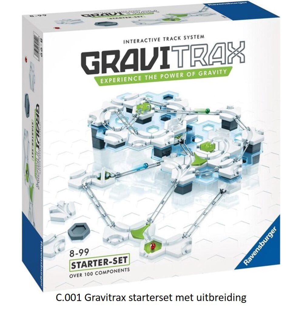 C.001 Gravitrax starterset met uitbreiding