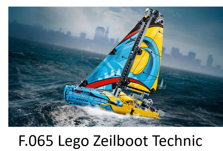 F.065 Lego Zeilboot Technic