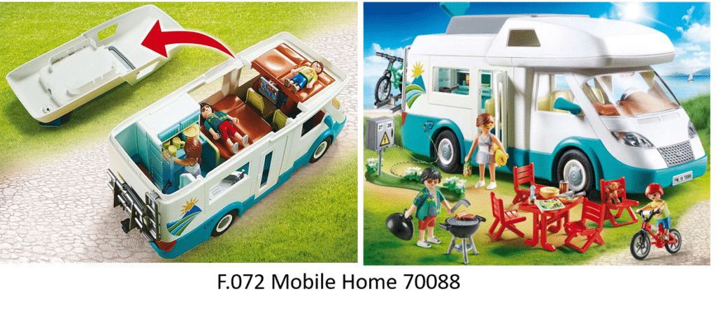 F.072 Mobile Home playmobil