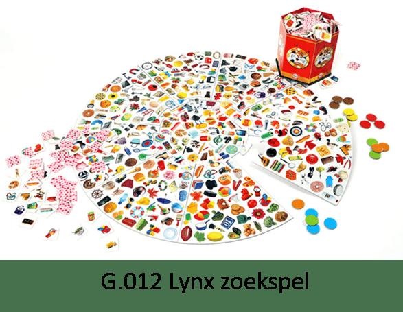 G.012 Lynx-zoekspel