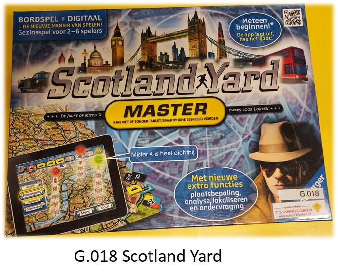 G.018 Scotland Yard