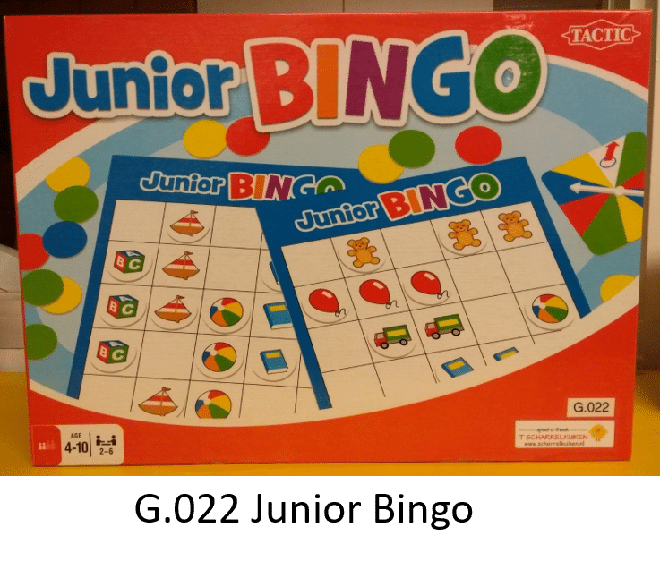 G.022 Junior Bingo