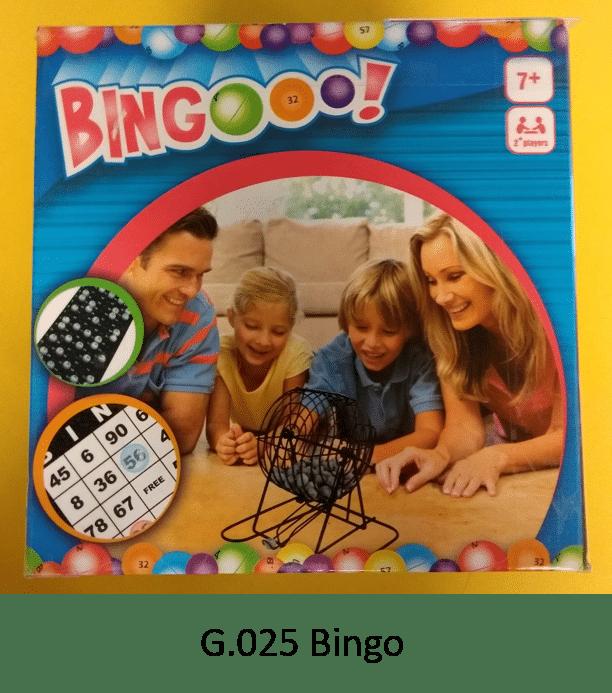 G.025 Bingo