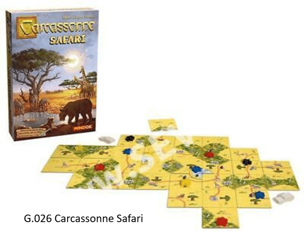 G.026 Carcassonne Safari
