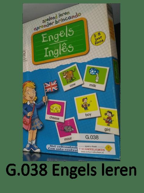 G.038 Engels leren