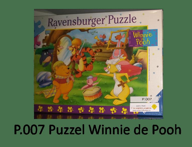 P.007 Puzzel Winnie de Pooh