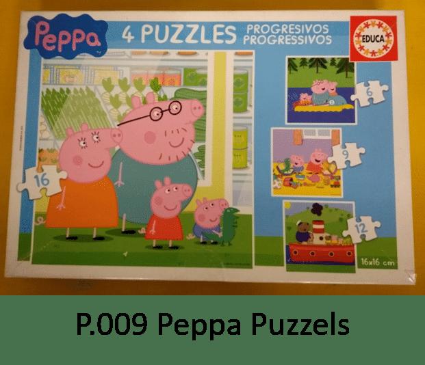P.009 Peppa Puzzels