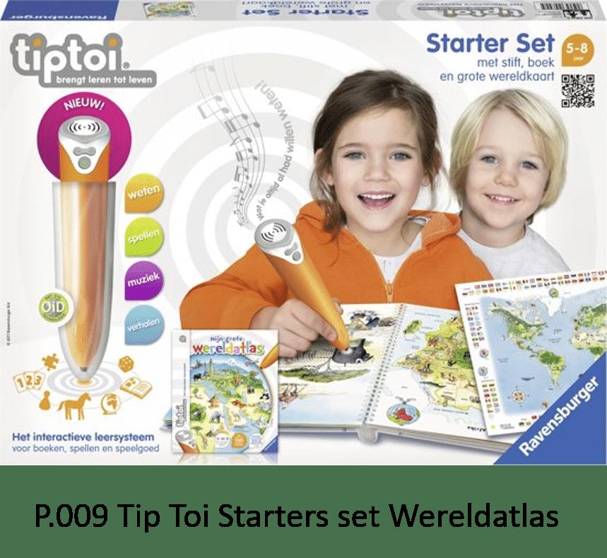 P.009 Tip Toi Starter set Wereldatlas